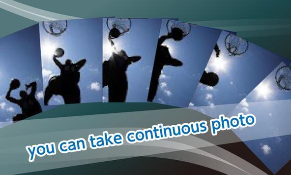 Silent Camera Continuous shooting-Hi-Speed-Quality apk screenshot