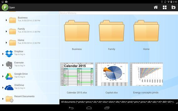 Office HD: PlanMaker BASIC captura de pantalla 3