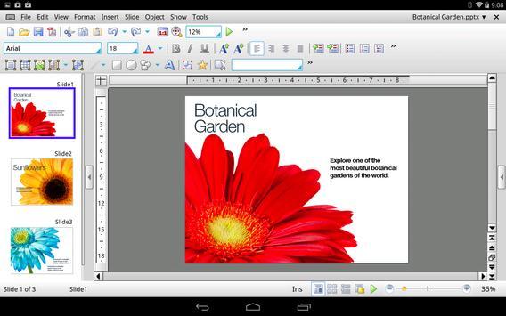Office HD: Presentations BASIC captura de pantalla 1