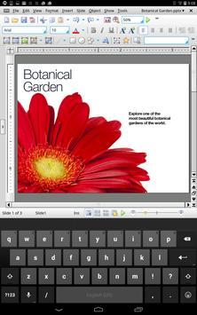Office HD: Presentations BASIC captura de pantalla 2