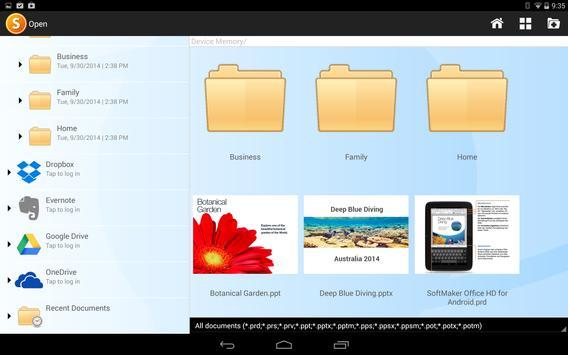 Office HD: Presentations BASIC screenshot 3
