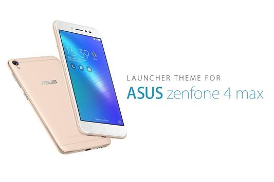 Theme for ASUS zenfone 4 max poster