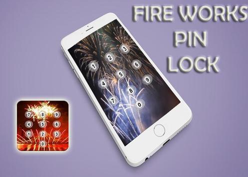 Fire Works Pin Screen Lock screenshot 3