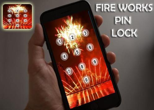 Fire Works Pin Screen Lock screenshot 4
