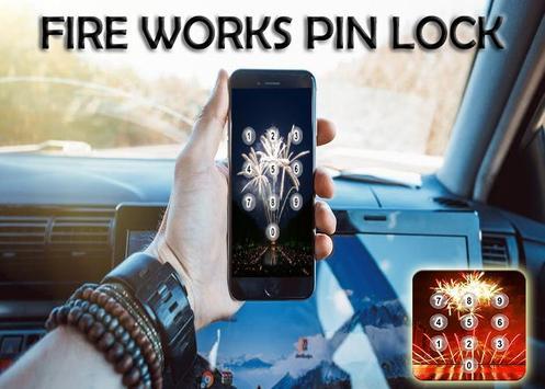 Fire Works Pin Screen Lock screenshot 5