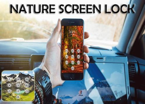 Nature Screen Lock poster