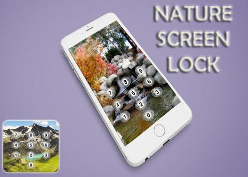 Nature Screen Lock apk screenshot
