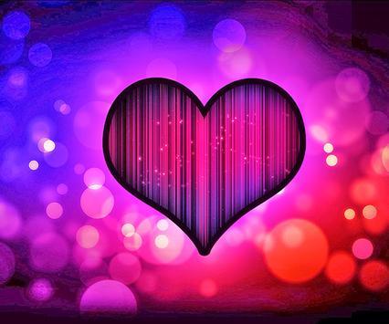Neon Heart Live Wallpaper poster