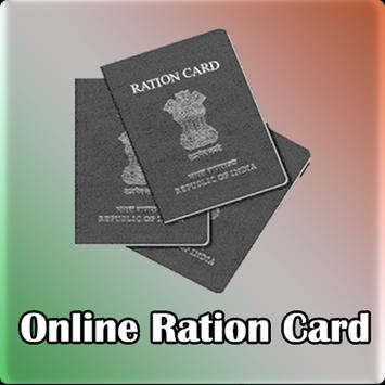 Online Ration Card Status poster
