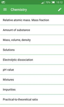 Chemical Formulas poster