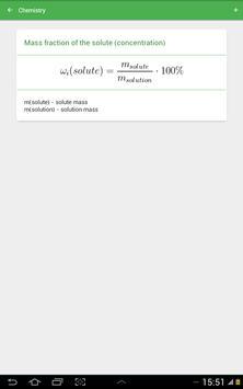 Chemical Formulas apk screenshot