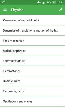 Physics Formulas 2017 poster