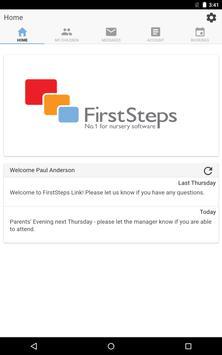 FirstSteps Parent Link screenshot 5