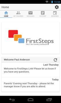 FirstSteps Parent Link poster