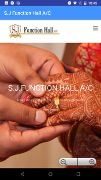 S.J Function Hall A/C poster