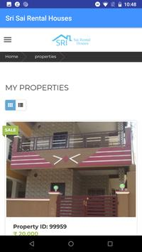 Sri Sai Rental Houses screenshot 1