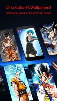 Ultra Instinct Goku Wallpapers HD 4K apk screenshot