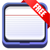 FlipNotes Index Cards Free icon