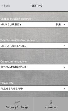 Currency Rate apk screenshot