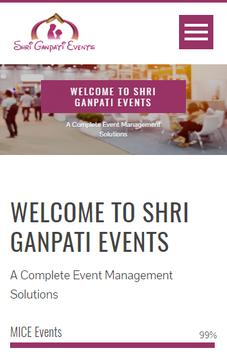 Shri Ganpati Events screenshot 1