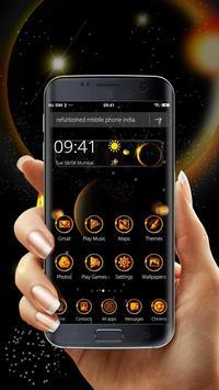 3D Solar Eclipse Theme poster