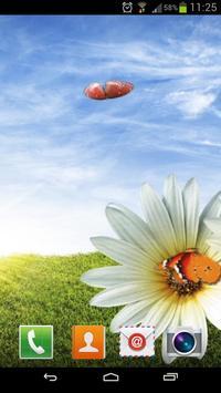 Solar butterfly Live Wallpap screenshot 2