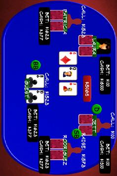 Texas Holdem Poker 100K screenshot 1