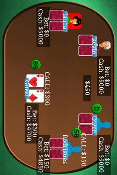 Texas Holdem Poker Free apk screenshot