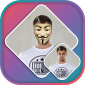 Anonymous Mask Photo Editor icon