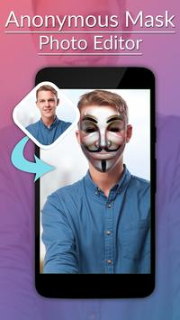 Anonymous Mask Photo Editor poster