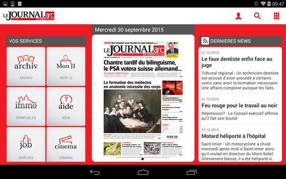 Journal Du Jura apk screenshot