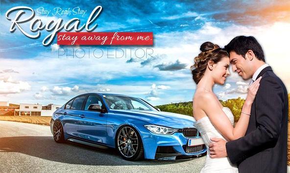 Royal Car Photo Editor - Royal Car Photo Frame poster