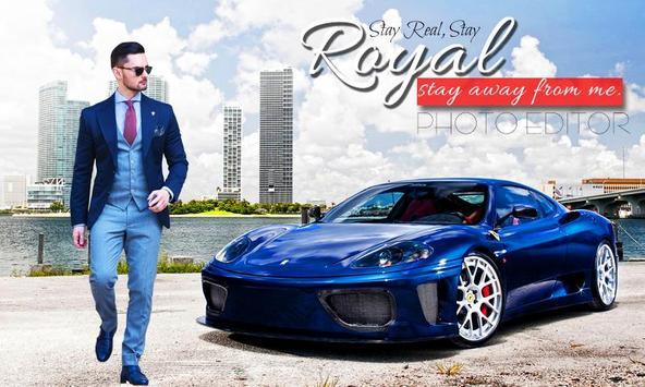 Royal Car Photo Editor - Royal Car Photo Frame screenshot 1