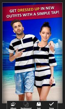 Twin Couple Photo Suit screenshot 3