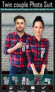 Twin Couple Photo Suit screenshot 2