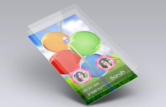 Balloons Zipper Lock Screen screenshot 4