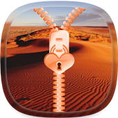 Desert Zipper Lock Screen icon