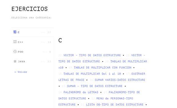 PRGRM & EJERCS screenshot 4