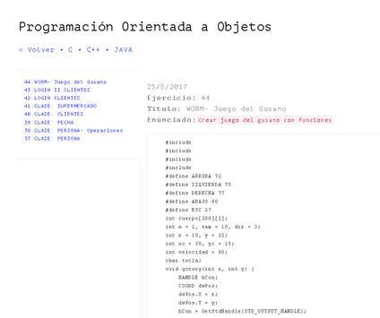 PRGRM & EJERCS screenshot 5