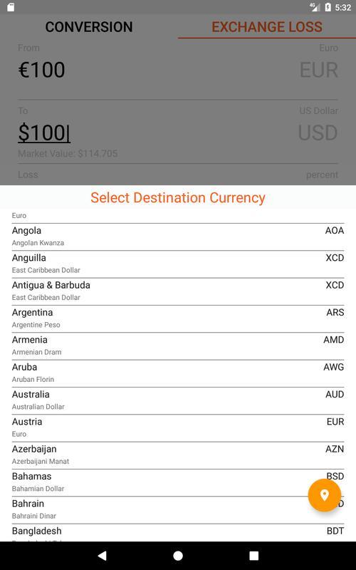 تصوير الشاشة 10 Currency Converter For Travelers 11