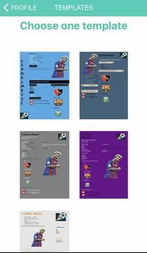 Football CV screenshot 3