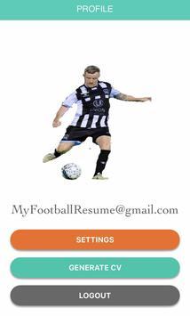 Football CV screenshot 4
