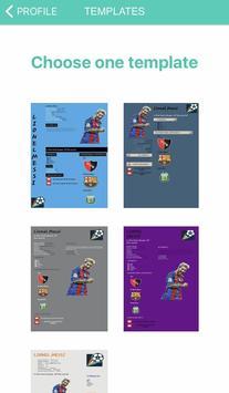Football CV screenshot 8