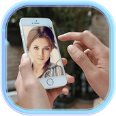 Mobile Phone Selfie Montage icon