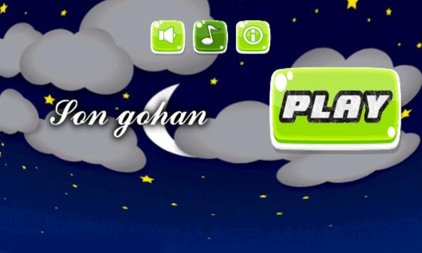 Songohan Super Sayan apk screenshot