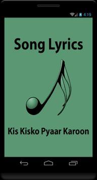 Lyrics Kis Kisko Pyaar Karoon poster