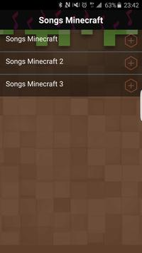 Songs Minecraft poster