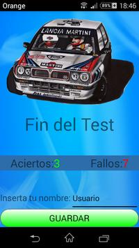 Sonidos Rally apk screenshot