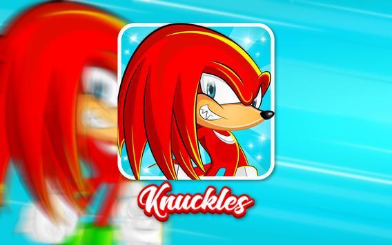 knuckles dash : red somic screenshot 2