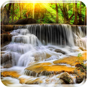 New Waterfall Live Wallpaper icon